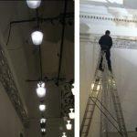 Installazione illuminazione